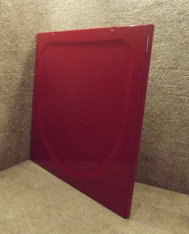 WE20M387 GE Dryer Chili Red Top Cover