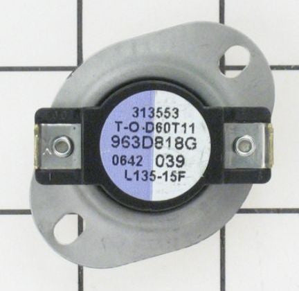 WE4X811 GE Dryer Thermostat L135-15