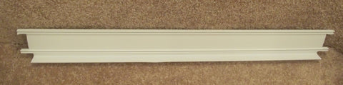 WR17X11407 GE Refrigerator Freezer White Shelf Door Trim