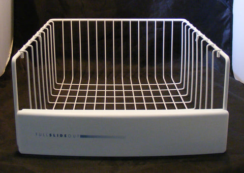 WR21X10080 GE Sears Refrigerator White Upper Freezer Basket