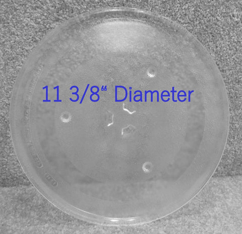 Glass Turntable WB49X10097 WB49X10034 GE Microwave