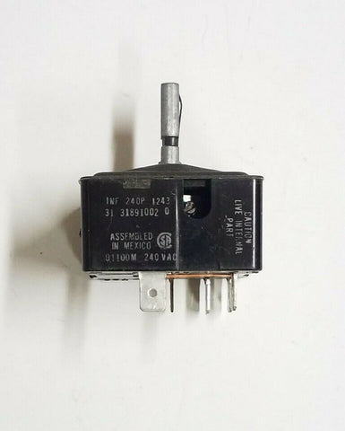 Y0058773 32064502 Maytag Range Burner Switch