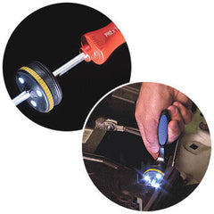 Tool LED Flash Light for Manual Use and Power Drills