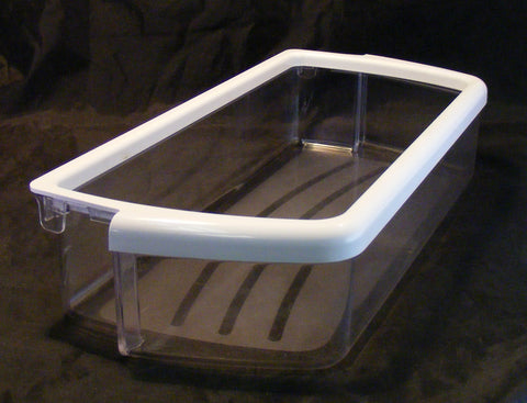 W10321304 Whirlpool Refrigerator White Door Bin Shelf PS3489569 AP4700047
