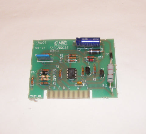 WE4M233 GE Dryer PC Board