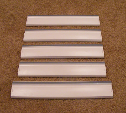 WR17X3967 WR17X3968 GE Refrigerator Freezer Door Shelf Set of 5