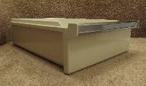 WR32X1074 GE Refrigerator Off White Meat Pan Drawer