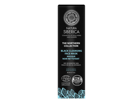 Natura Siberica: Mascarilla Facial Negra Limpiadora (The Northern Collection)