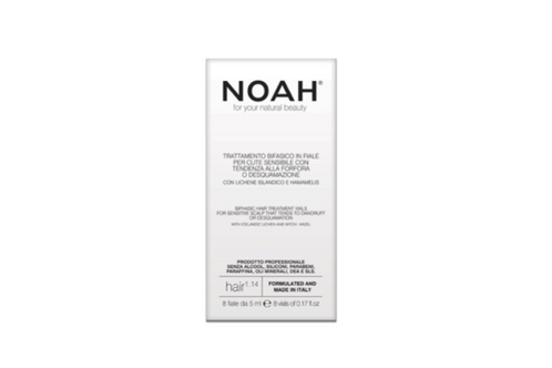 NOAH: 1.14 Biphasic Hair Treatment Vials (Tratamiento capilar cuero cabelludo sensible)