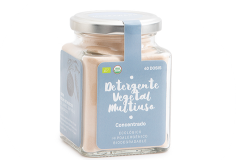 Move and Wash: Polvo de Nueces de Lavado (Detergente Vegetal Multiusos)