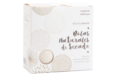 Move and Wash: Bolas de Secado Natural
