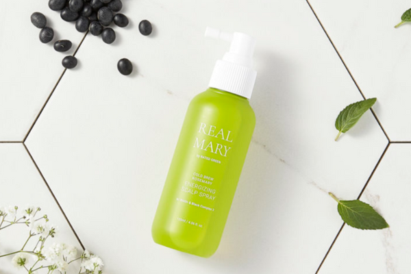Rated Green: Real Mary Energizing Scalp Spray (Spray capilar energizante)