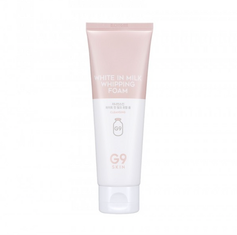 G9SKIN: White in Milk Whipping Foam (Espuma facial limpiadora)