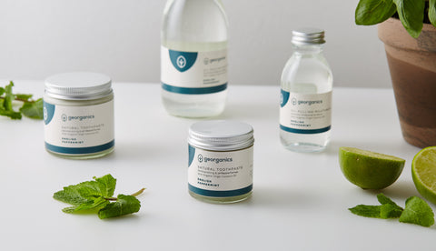Georganics Natural Toothpaste English Peppermint