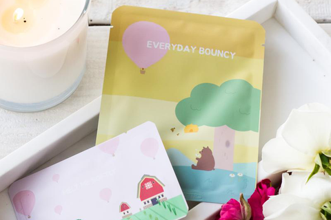 PACKage: Everyday Bouncy Facial Mask (Mascarilla facial)