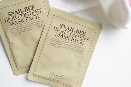 Benton: Snail Bee High Content Mask Pack (Mascarilla Facial Calmante)