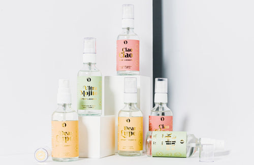 The Singular Olivia: Packs Sprays Hidroalcohólicos