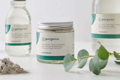 Georganics: Natural Toothpaste - Spearmint (Dentífrico natural remineralizante de hierbabuena)
