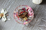 Floral Resin Dish