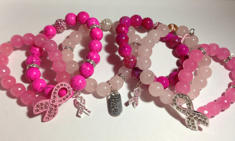 Breast Cancer Awareness Bracelets 2013