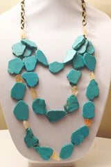 Turquois Howlite Necklace