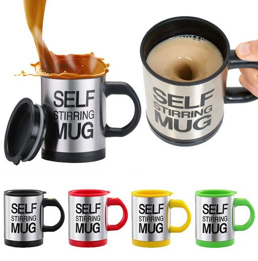 Self-Stirring Coffee Mug-coffeebox365