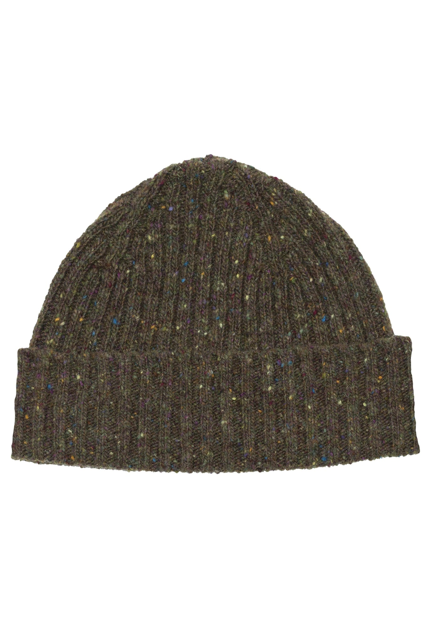 An ivy Huer Army Green Donegal Beanie