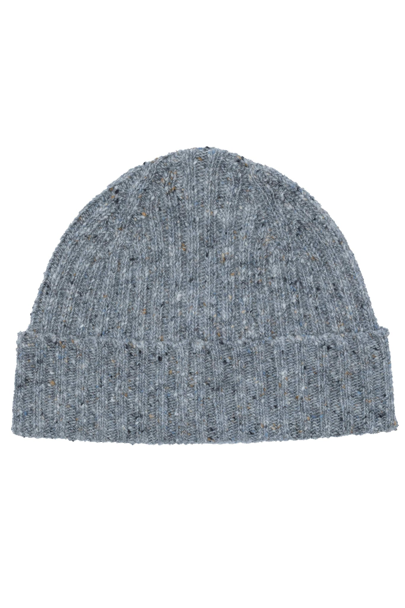 An ivy Huer Light Grey Donegal Beanie