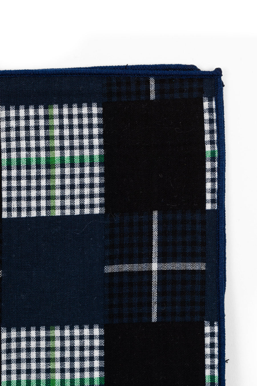 AN IVY Pocket square Patchwork Pocket