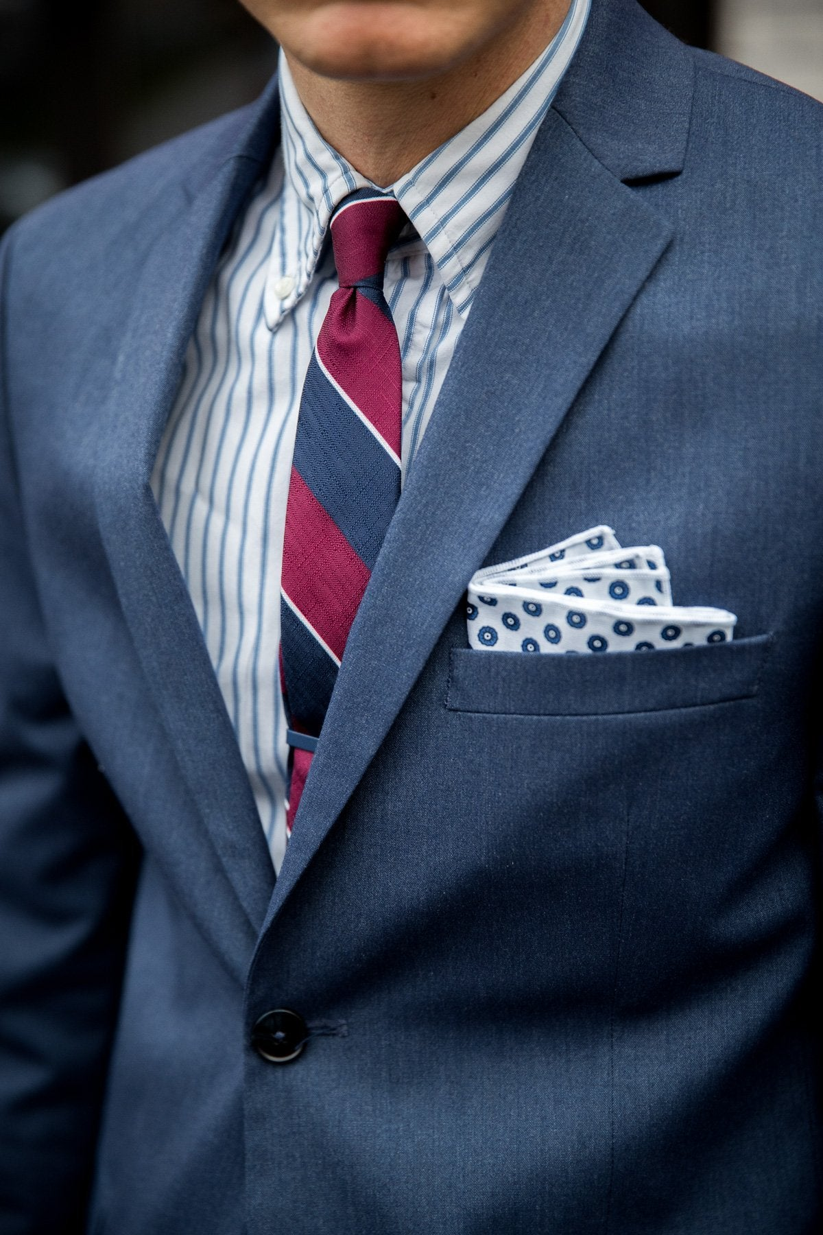 An ivy Pocket square The Italian Pocket