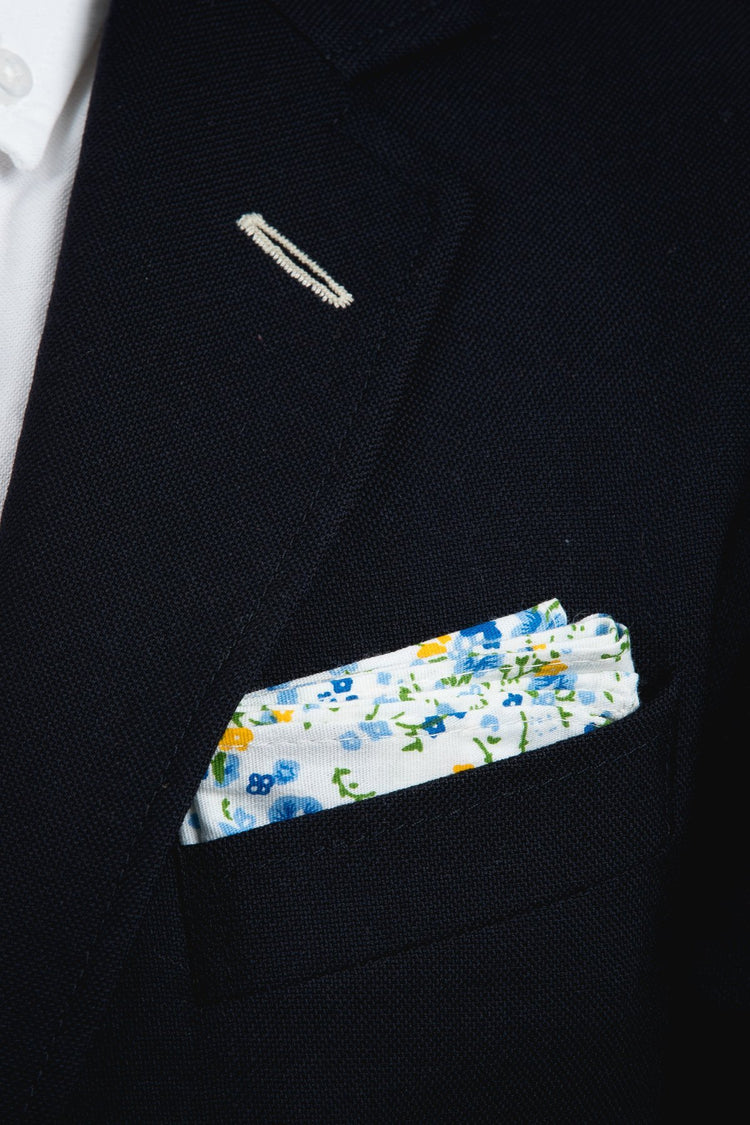 An ivy Pocket square The White Flower