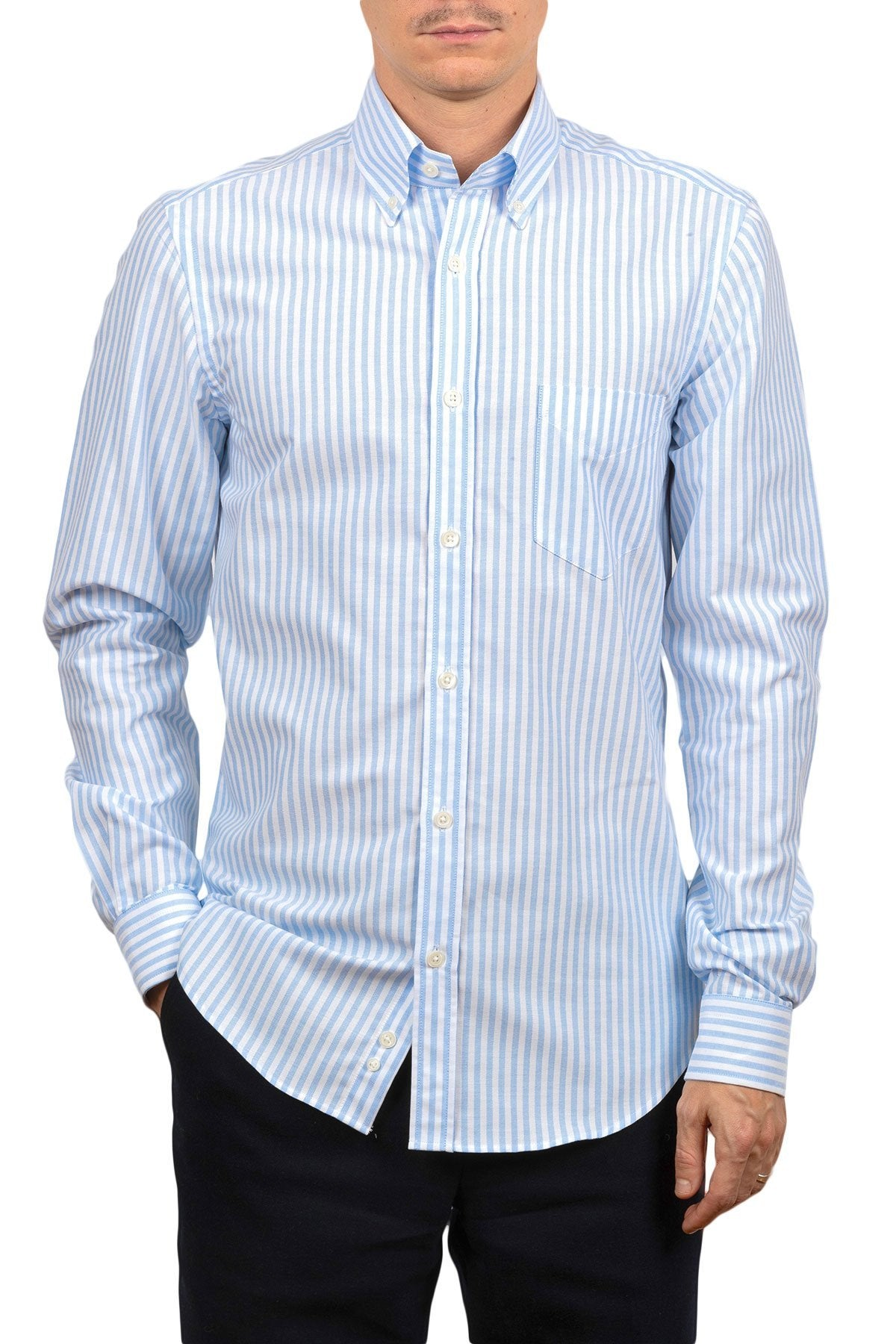 An ivy Skjorte The Striped Oxford Shirt