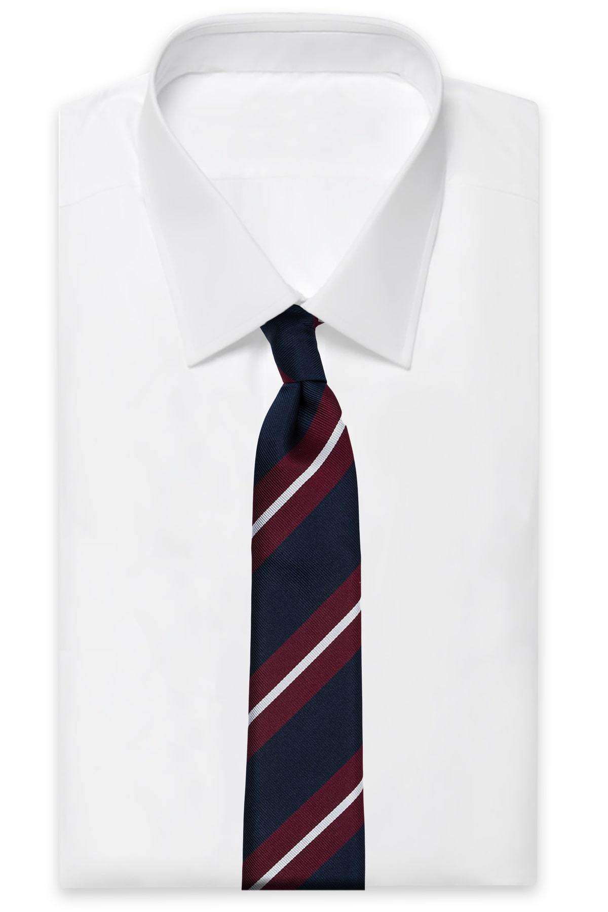 AN IVY Slips L2 x AN IVY Regiment Tie
