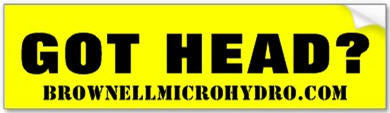 "BMH ""Got Head"" Bumper Sticker"