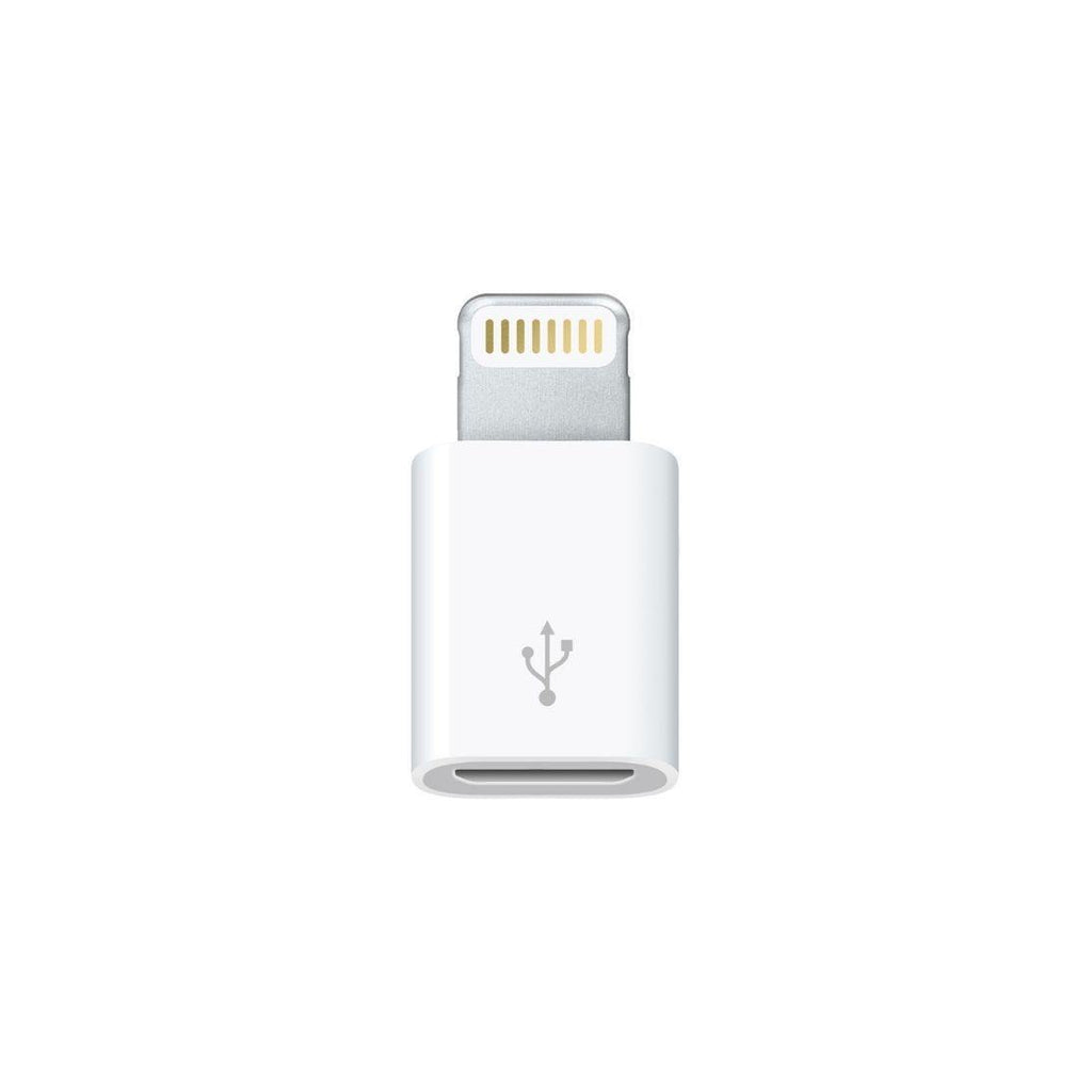 Apple Lightning to Micro USB Adapter | White | QuickTech