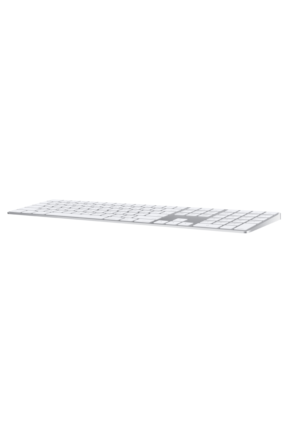 Apple Magic Keyboard with Numeric Keypad | US English | Silver - QuickTech.in