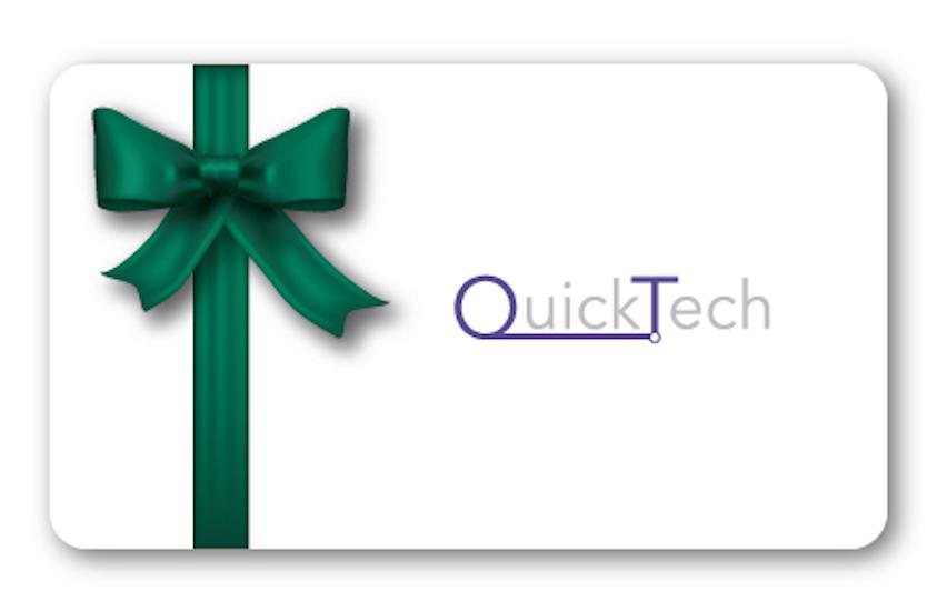QuickTech Gift Card - QuickTech.in