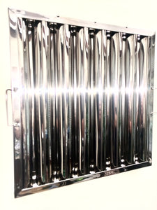 Baffle Filters - Stainless Steel