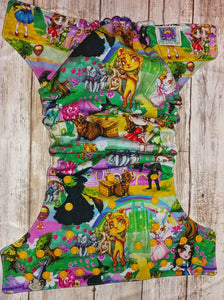 Emerald City Yellow Brick Road Wizard of Oz Pocket