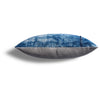 Vintage Indigo Waterlily Pillow, 11 x 22 in
