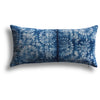 Vintage Indigo Qin Pillow, 11 x 22 in