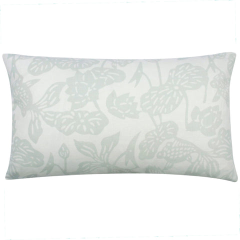 Winter Melon Fish Bowl Pillow, 12 x 20 in