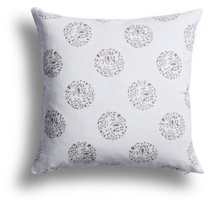 Dot Dot Dot Pillow - Shiitake