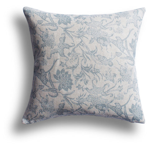 Prussian Carp Pillow in Spring, 22 x 22 in