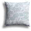 Fish Bowl Pillow in Winter Melon, 22 x 22 in