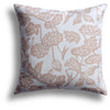 Fish Bowl Pillow in Peony, 22 x 22 in