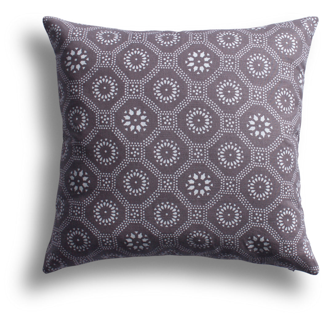 Honeycomb Pillow - Taro