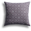 Honeycomb Pillow in Taro, 22 x 22 in