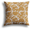 Flower Pillow in Cumin, 22 x 22 in