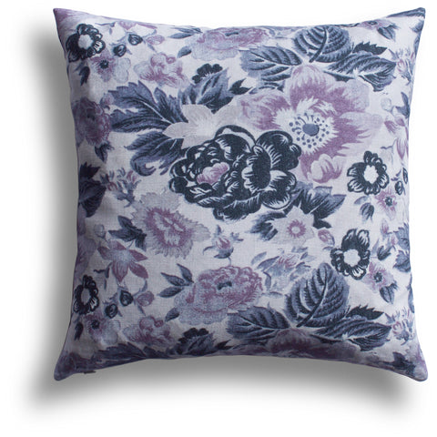 Summer Palace Pillow in Violet, 20 x 20 in